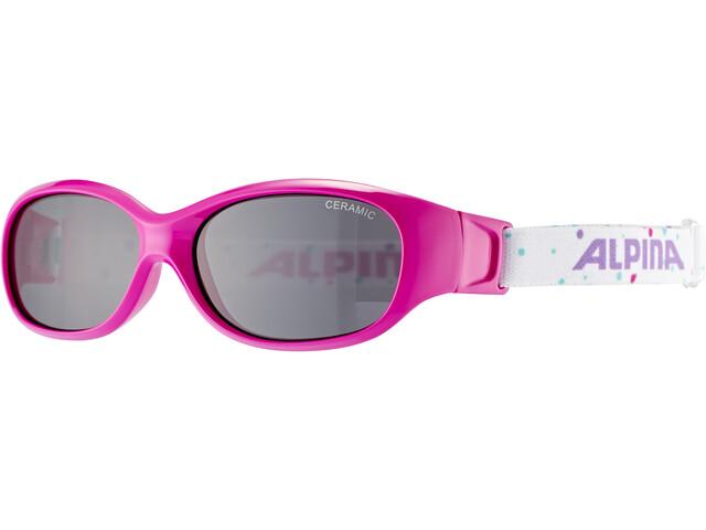 Alpina Sports Flexxy Occhiali Bambino, rosa/colorato